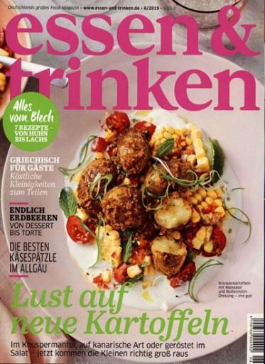 Essen & Trinken Abo (12 Ausgaben) für 58,80 € mit 40 € Amazon-Gutschein/ 35 € Verrechnungsscheck