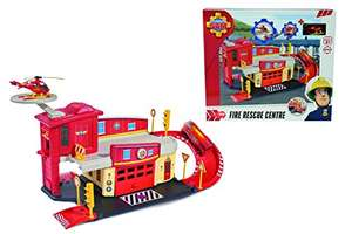 Dickie Toys 203099623 - Feuerwehrmann Sam Fire Rescue Centre, Rettungsstation, 48 x 26 x 23 cm