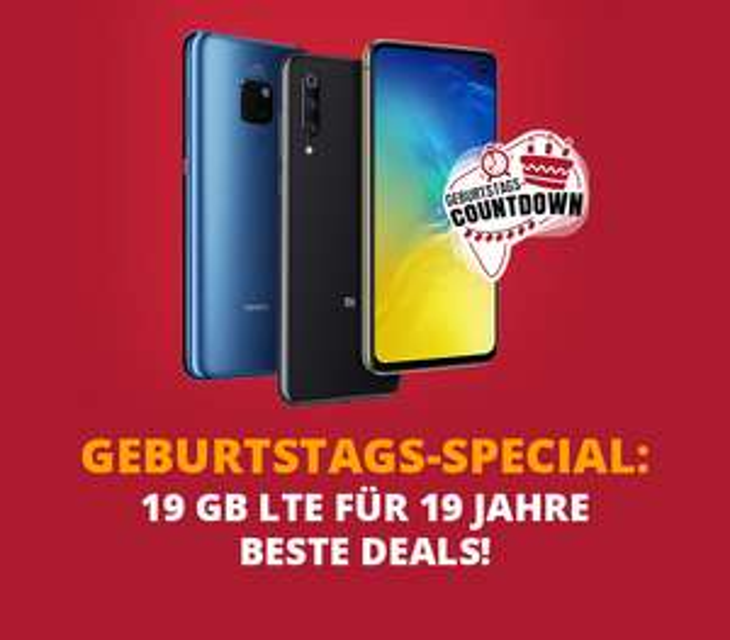 o2 Blue All-in M 19 GB LTE für mtl. 29,99€ + je 19€ Zuzahlung u.a. mit iPhone 8 & Mate 20 Pro