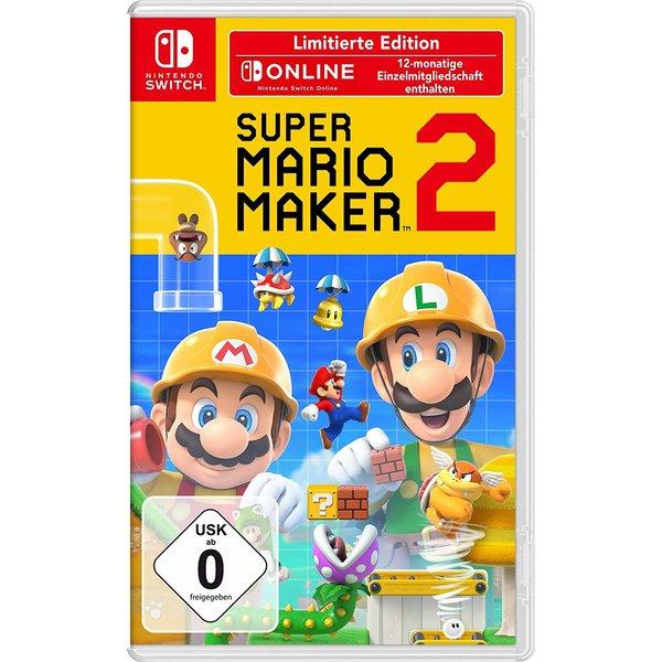 Super Mario Maker 2: Limited Edition (Switch) für 54,90€ (Check24)