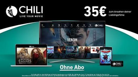 [Chili.tv] 35€ Guthaben für Leihfilme