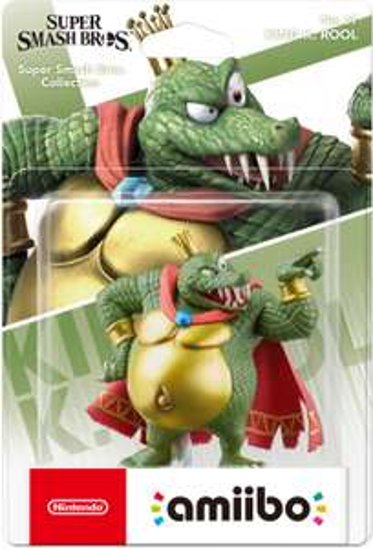 Nintendo amiibo (Super Smash Bros. Collection) King K. Rool & Ice Climbers für je 9€ (Media Markt)