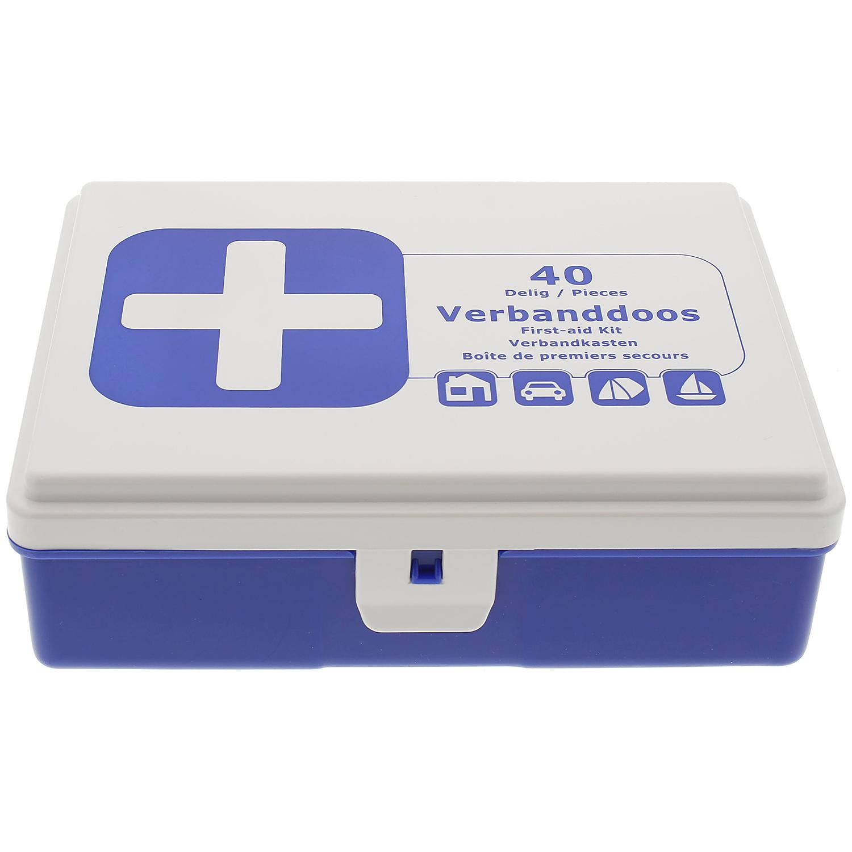 Erste-Hilfe Verbandkasten 40 tlg. für 2,79€ & Hansaplast Pflaster Basic Mix-Pack für 1,19€ [Action ab 29.05]