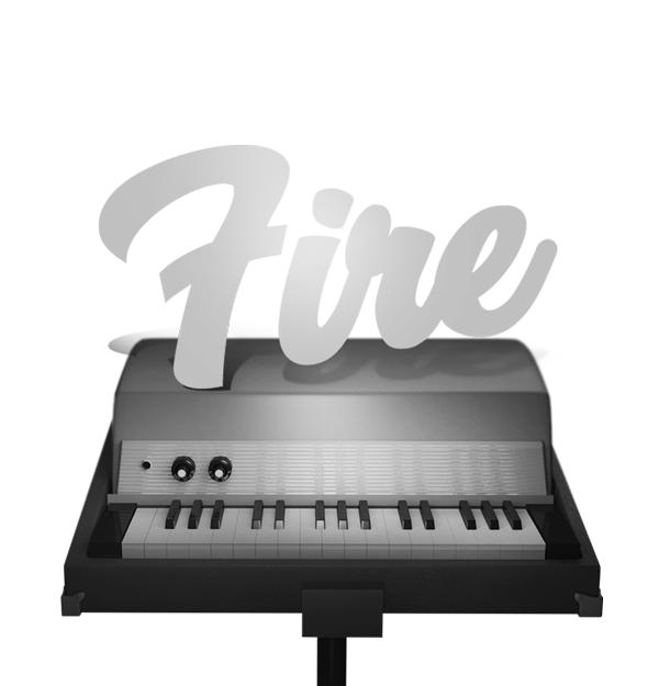 [VST/AU, WIN/MAC] Sampleson Fire, Fender Rhodes Piano Bass Plugin Audio Software