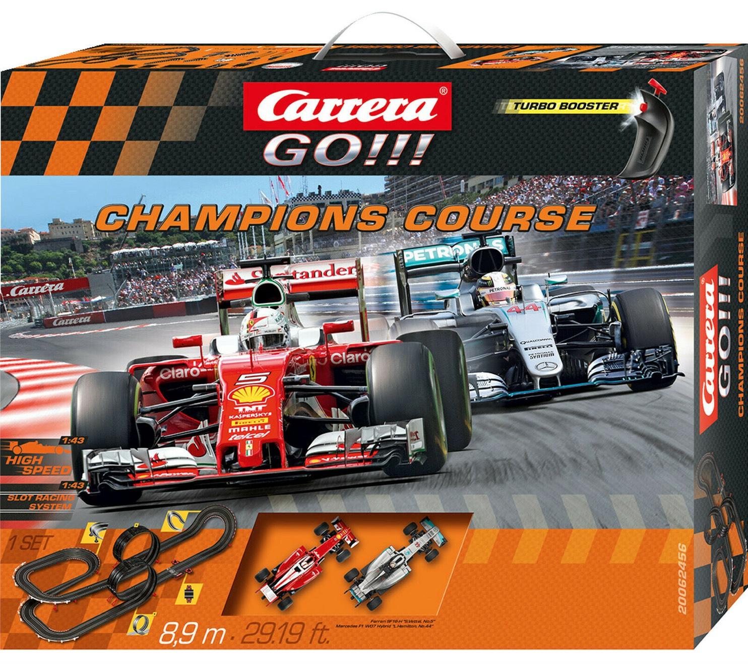 Carrera (Toys) Champions Course Rennbahn Mehrfarbig