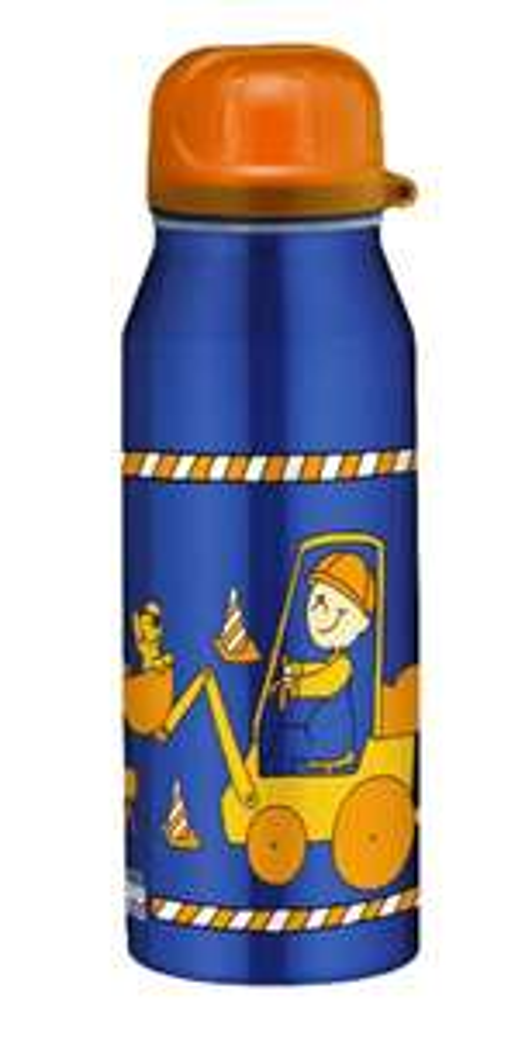 Alfi Isolier-Trinkflasche Edelstahl, 0,35l, Bodo buddel