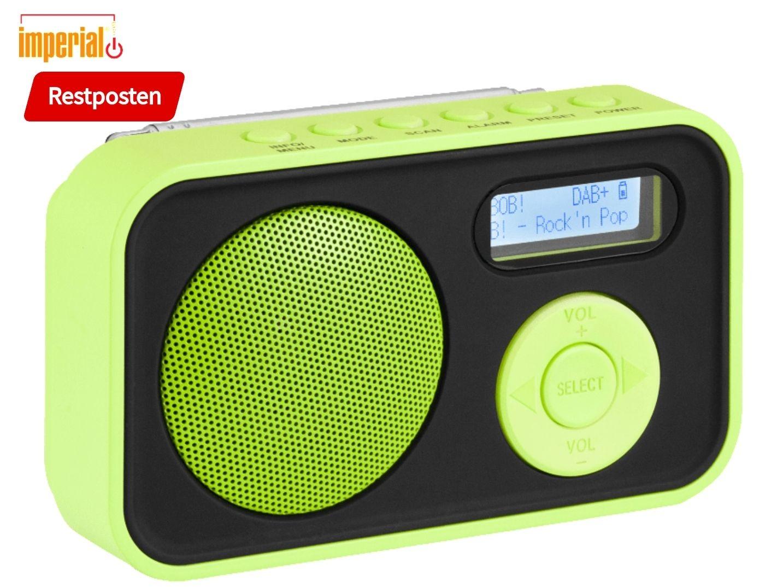 Imperial Dabman 12 Radio, neon-grün