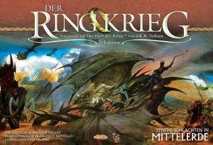 Der Ringkrieg 2. Edition Brettspiel + Erweiterungen