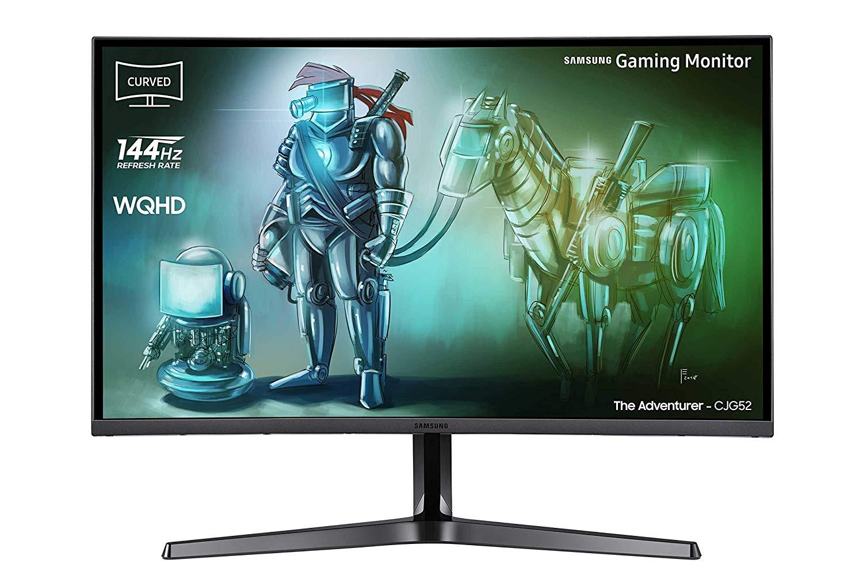 "Samsung C32JG52 32"" Curved Monitor  - WQHD, VA Panel, 8bit, 300nits, 144Hz (Amazon IT)"