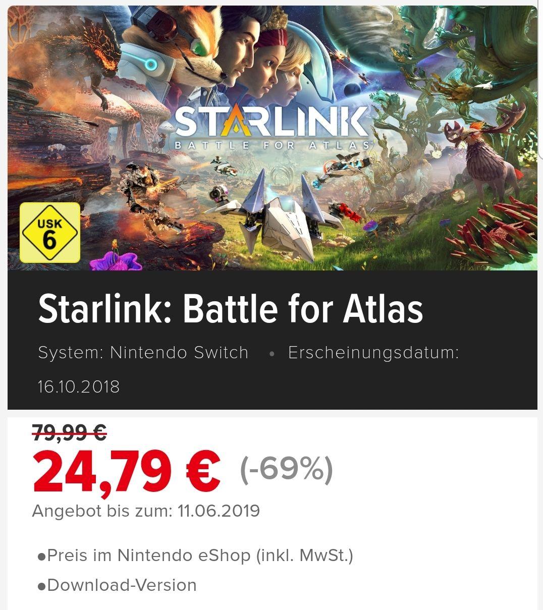 (Switch E-Shop) Starlink: Battle for Atlas und die Deluxe Version