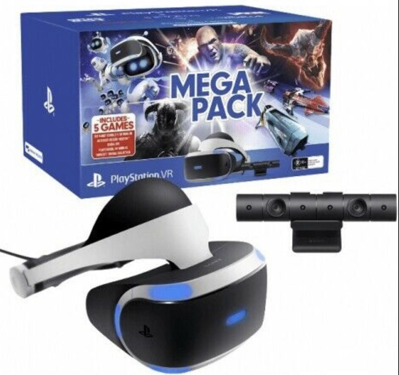 Sony Playstation VR Megapack PS4 Virtual Reality VR Brille + Kamera + 5 Spiele für 251,91€ inkl. Versandkosten