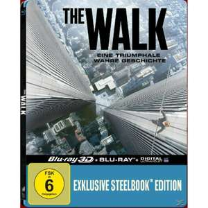 The Walk Limited Steelbook Edition (3D Blu-ray + Blu-ray) für 5,99€ (Saturn)