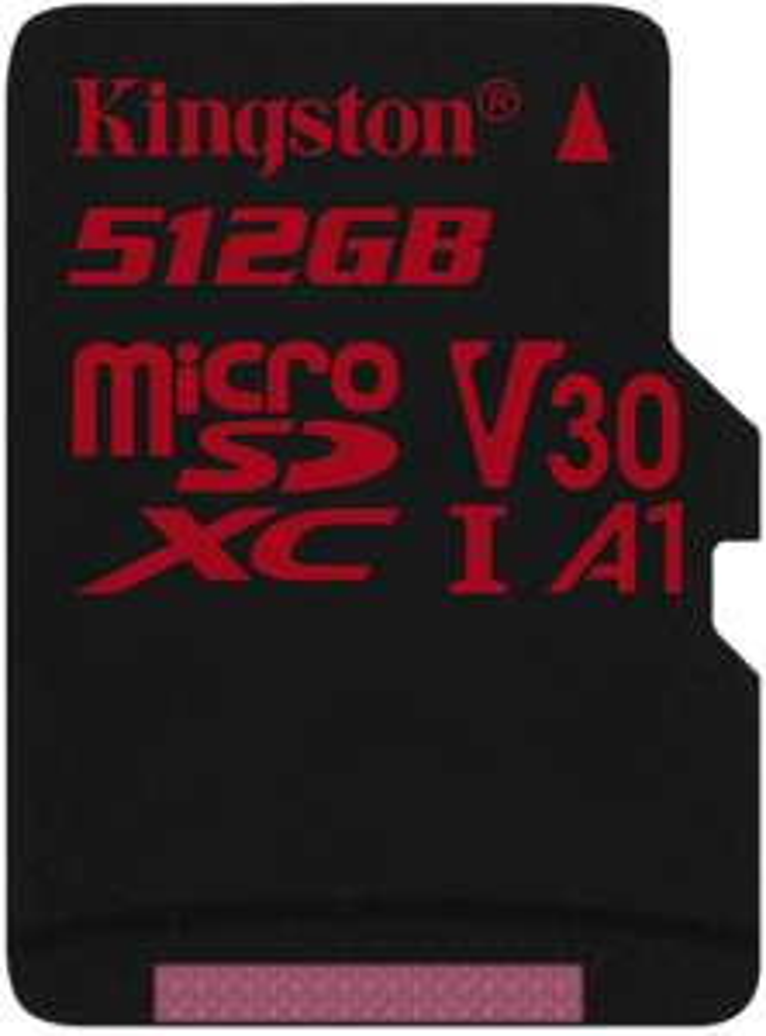 Kingston Canvas React 512GB microSDXC (100 MB/s Lesen, 80 MB/s Schreiben)