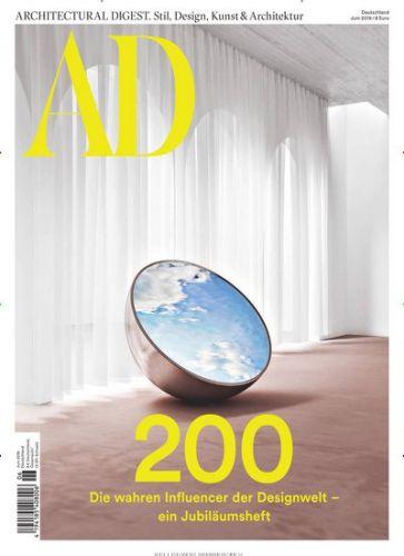 AD Architectural Digest Abo (10 Ausgaben) für 68 € mit 60 € Amazon-Gutschein