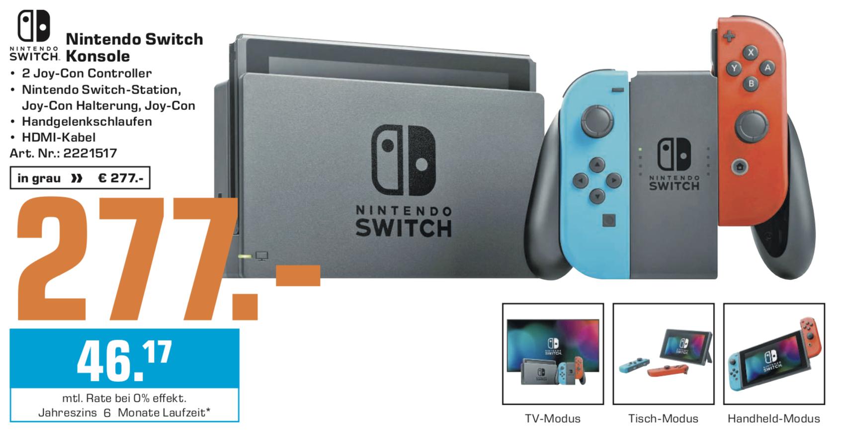 Nintendo Switch Konsole für 277€ - Grand Theft Auto für 12€, Anno 1800 PC für 44€ - Lokal SATURN Weiterstadt, Bad Homburg, Darmstadt, Hanau