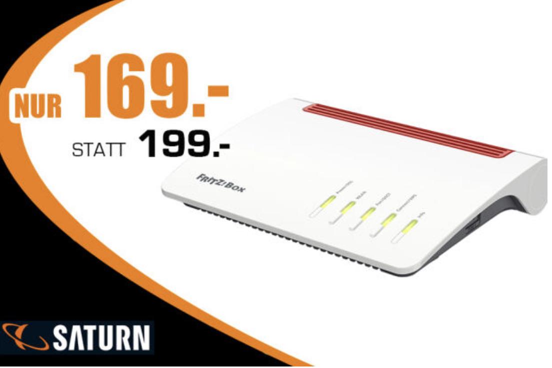 AVM FRITZ!Box 7590 für 169€ - Lokal Verkauf von der Rampe bei Saturn Witten 1. und 2. Juni