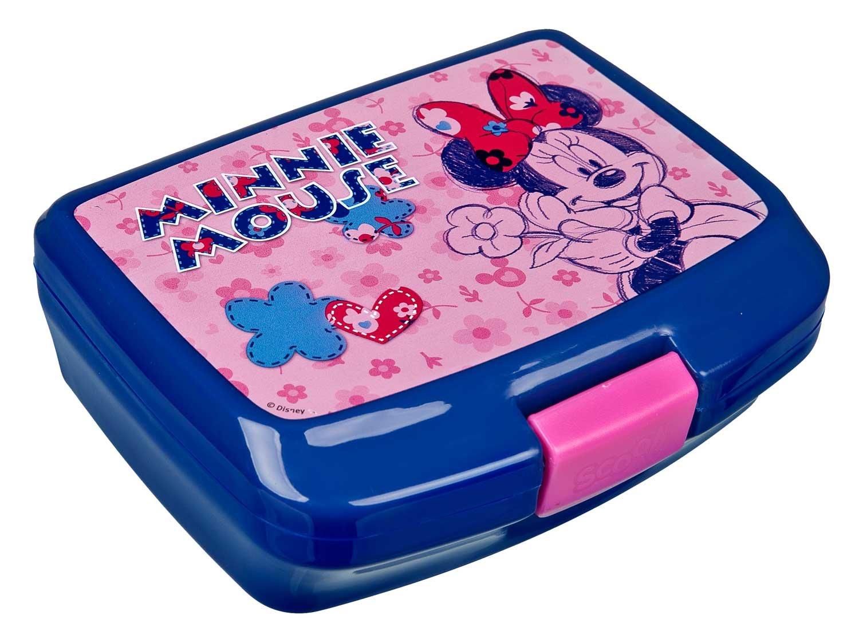 Scooli - Minnie Mouse Brotzeitdose (Pink) & Minnie Mouse Sportflasche & Undercover PJ Masks - Geldbeutel für je 2€ (Müller)