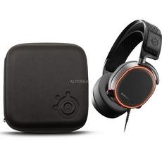 SteelSeries Arctis Pro Bundle inkl. Hartschalenetui, Headset (schwarz)