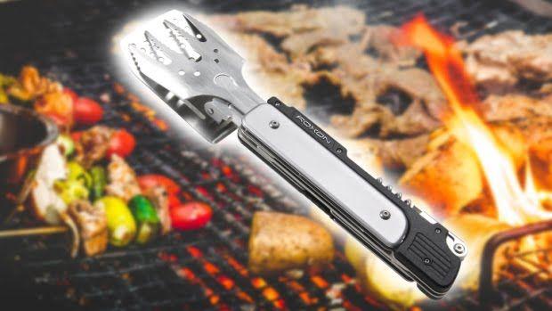 Roxon BBQ MacGyver beim Grillen