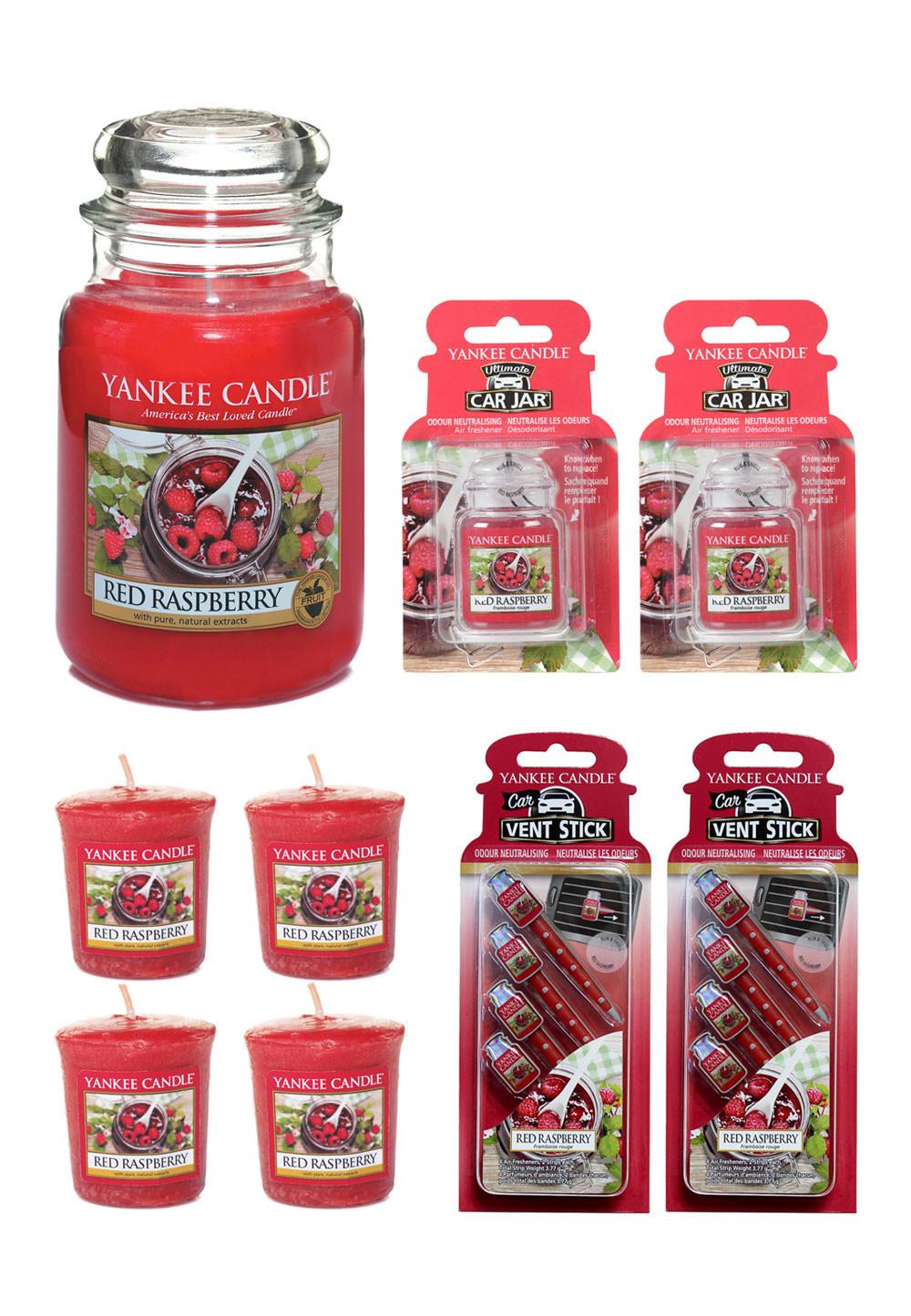 6 verschiedene Sets von Yankee Candle bei Brands4Friends, z.B. 9-teiliges Duftset Red Raspberry