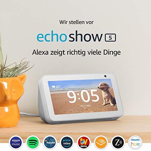 ZWEI Amazon Echo Show 5 | mit Display und Alexa | einzeln für 89,99€