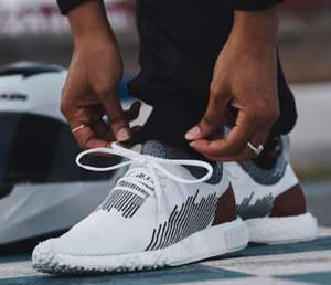 adidas Originals NMD Racer Sneakers aus Primeknit