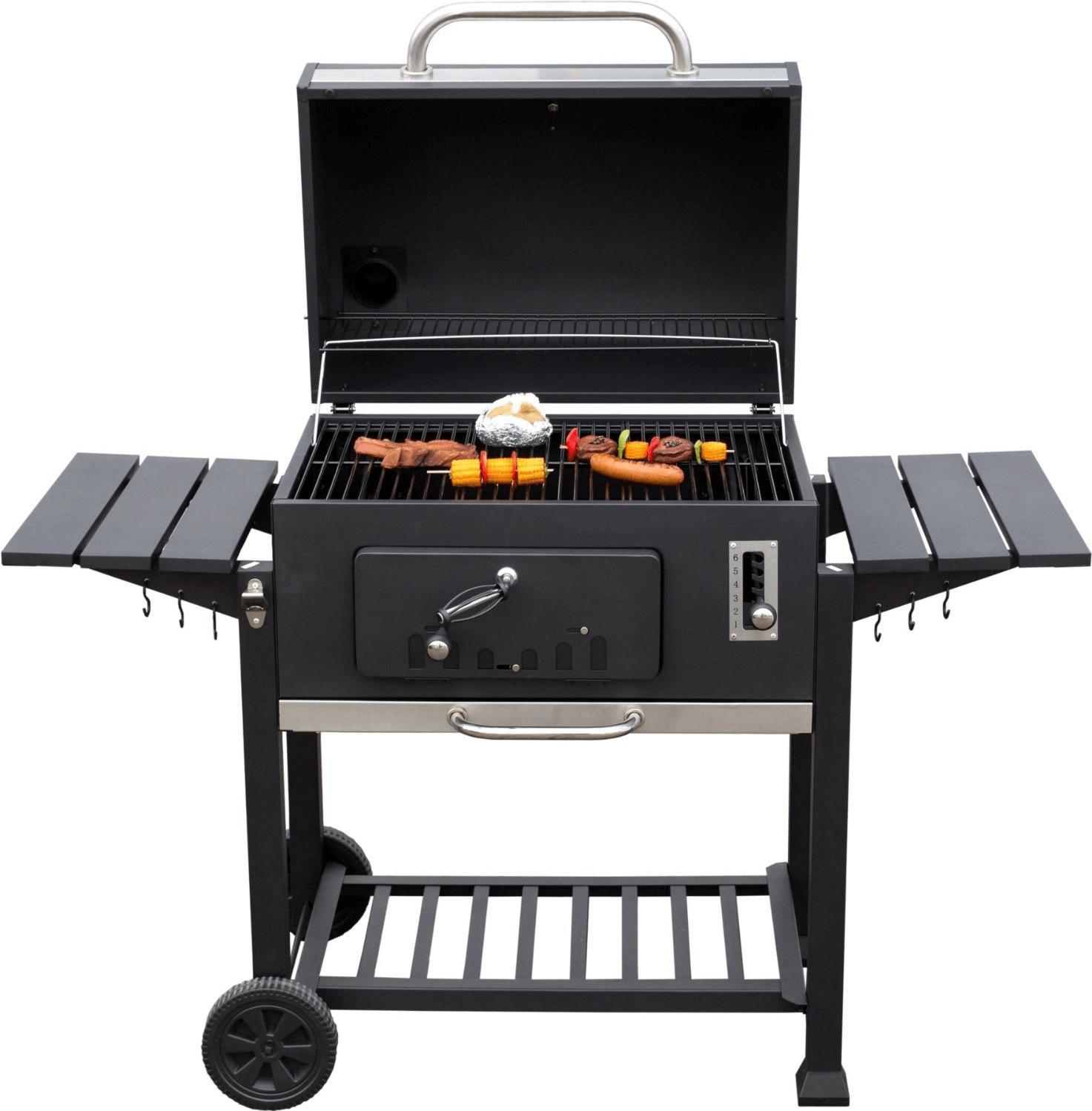 Grill-Aktion: z.B. Holzkohlegrill El Fuego Ontario XXL für 149€ und diverse Grillzubehör