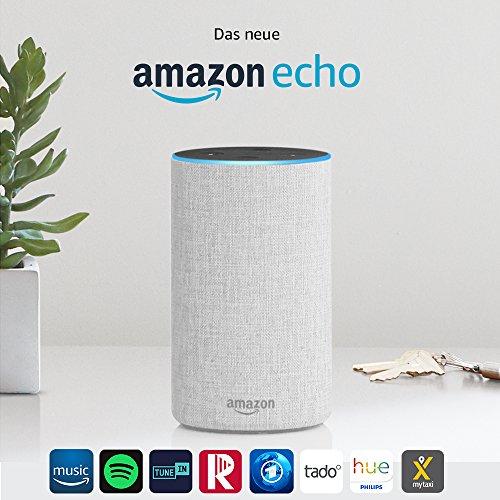Amazon Echo, Zertifiziert und generalüberholt, (2. Generation), alle Farben