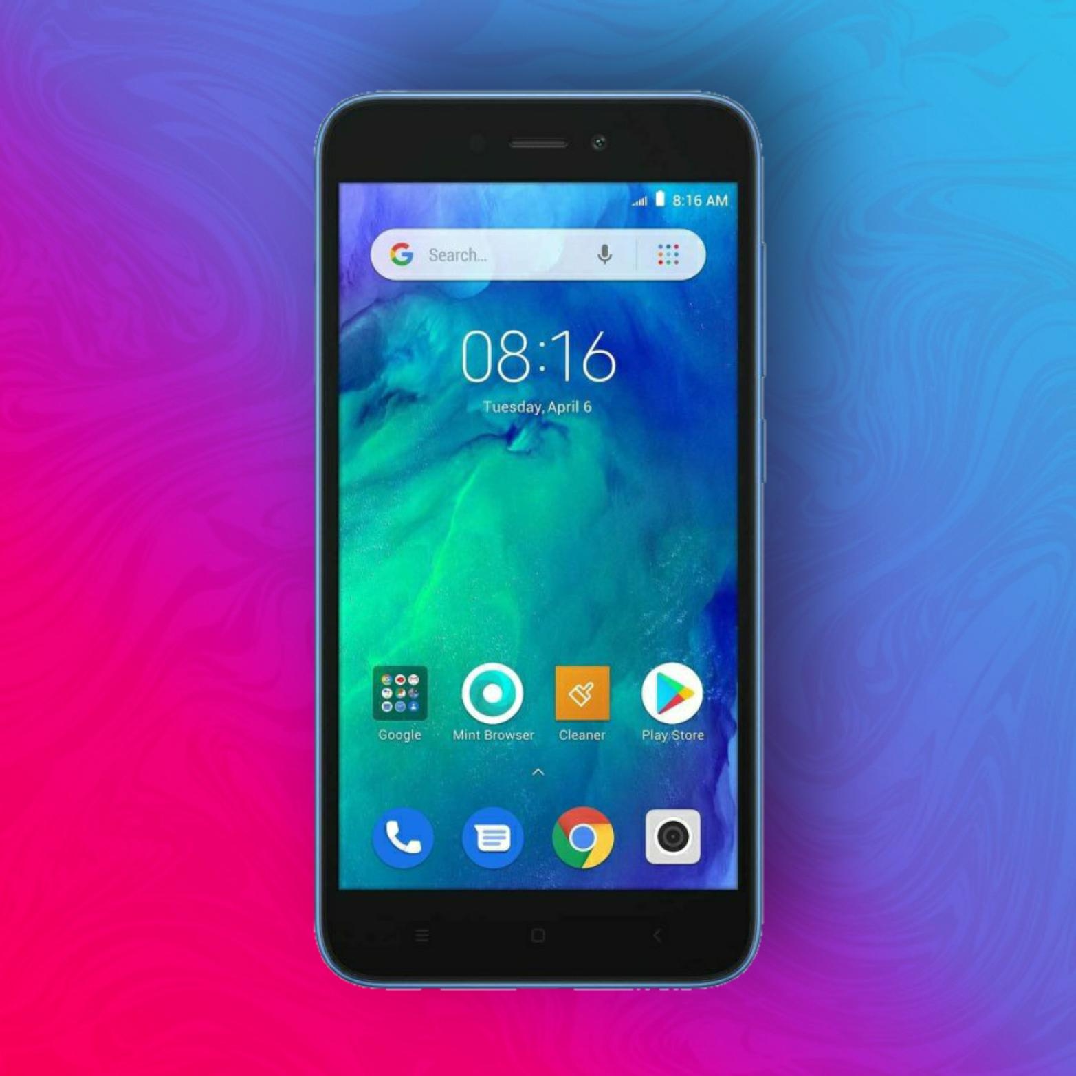 "Xiaomi Redmi Go 8/1GB - Snapdragon 425 - 5"" HD Display - 8+5MP - Klinkenanschluss - Dual SIM + MicroSD - Google Go   Global mit Band 20"