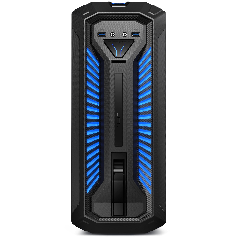 Gaming-PC ERAZER P6612 - Core i5, GTX1070, 8GB RAM, 256GB SSD, 1TB HDD, WIN10