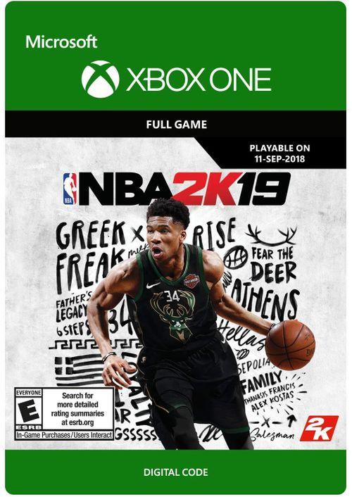 NBA 2K19 (Xbox One) für 12,59€ (CDkeys)