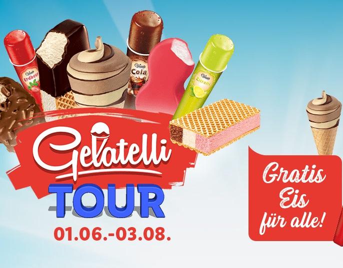 """Gratis Eis bei der """"Lidl Gelatelli Tour 2019"""""""