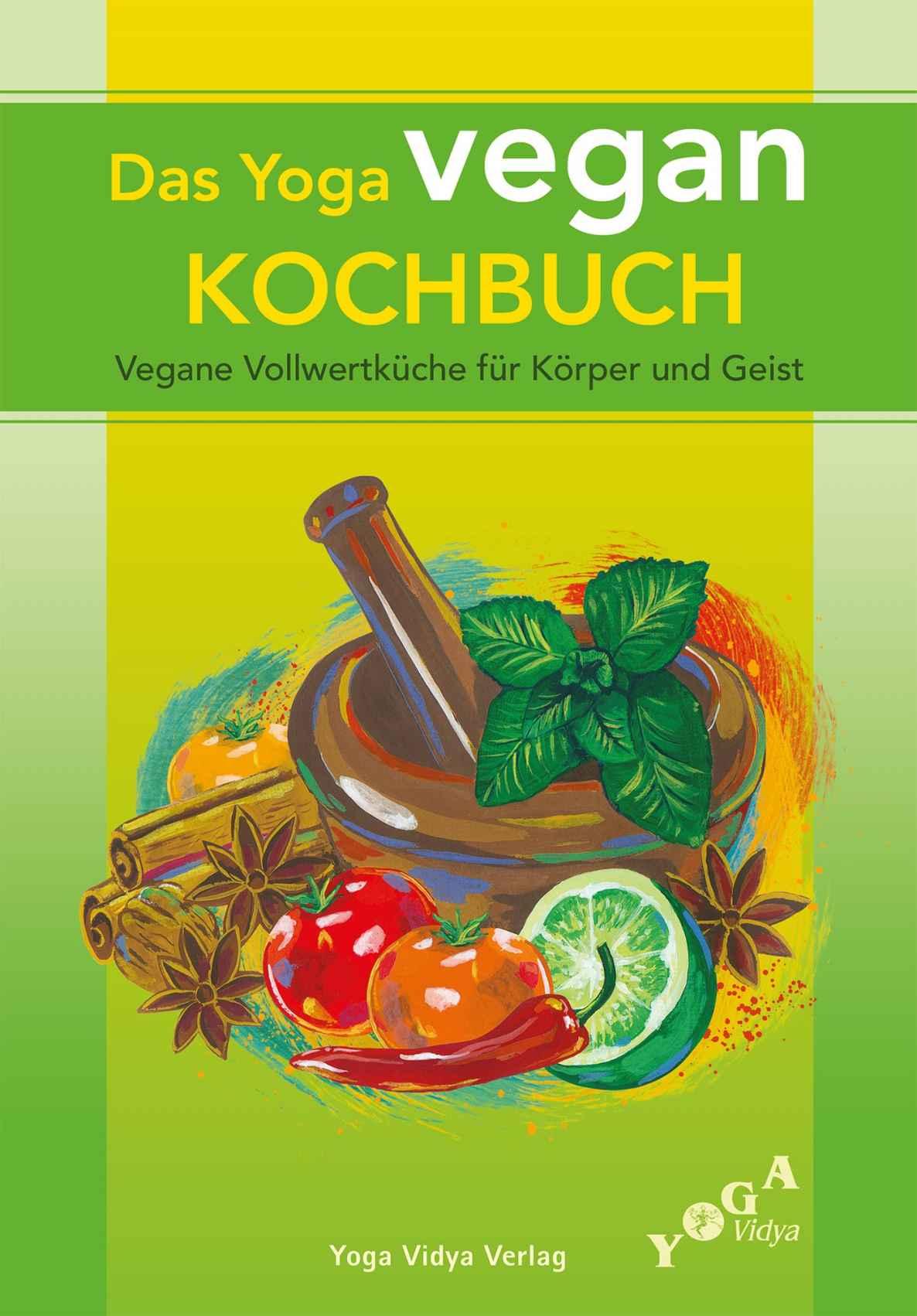 """Gratis - """"Das Yoga vegan Kochbuch"""" - Per E-Mail anfordern"""