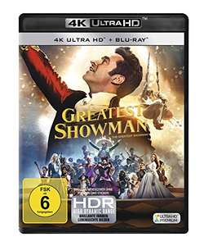 [Amazon] Greatest Showman - 4K Ultra HD (4K Ultra HD Blu-ray + Blu-ray) für 19,97€ (Amazon Prime)
