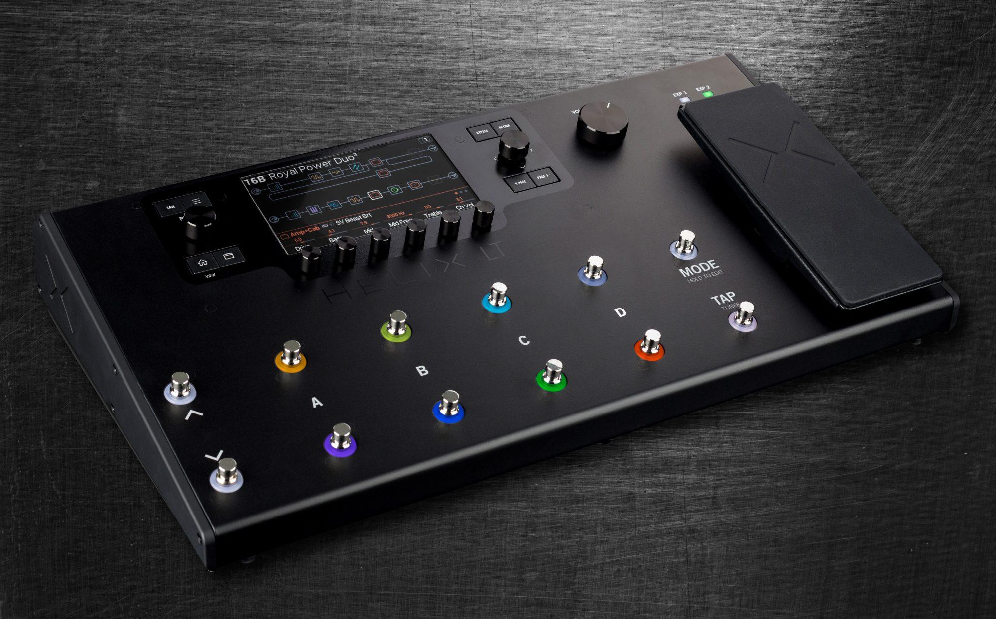 Line 6 Helix LT Gitarrenprozessor Multieffektgerät
