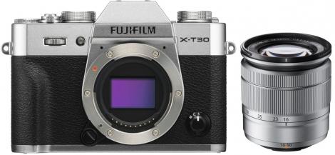 Fujifilm X-T30 silber + XC 16-50mm f3,5-5,6 OIS