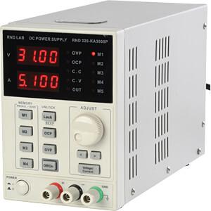 [Reichelt Elektronik] RND Lab/Korad KA3005P 320-KA P50 Labornetzgerät, 0 - 30 V, 0 - 5 A, Netzteil, stabilisiert, programmierbar (Paydirekt)