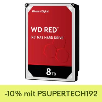 """Western Digital WD Red 8TB, 3.5"""", SATA 6Gb/s (WD80EFAX)"""