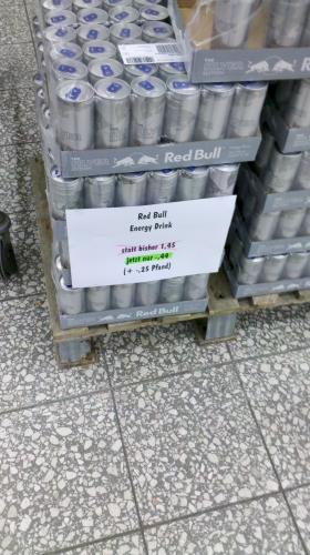 """[Altenburg] Kaufland - Red Bull """"Silver Edition"""" für 44 Cent pro 250ml Dose"""