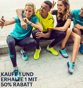 Asics Outlet - 3 for 2 on all collections- auf alles, 3 kaufen, 2 bezahlen