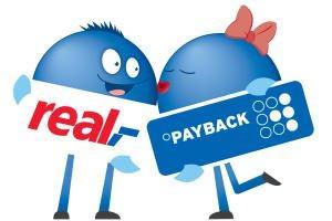 [real] 1.000 Payback Punkte ab 100€ Einkauf vom 05.07. bis 06.07. in den Märkten