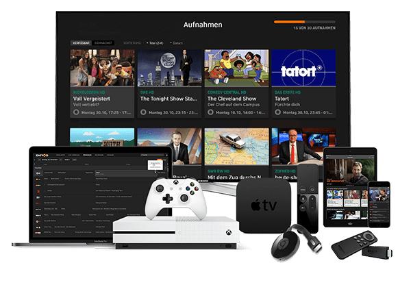 2 Monate Zattoo Premium kostenlos für TV-Spielfilm Live Kunden