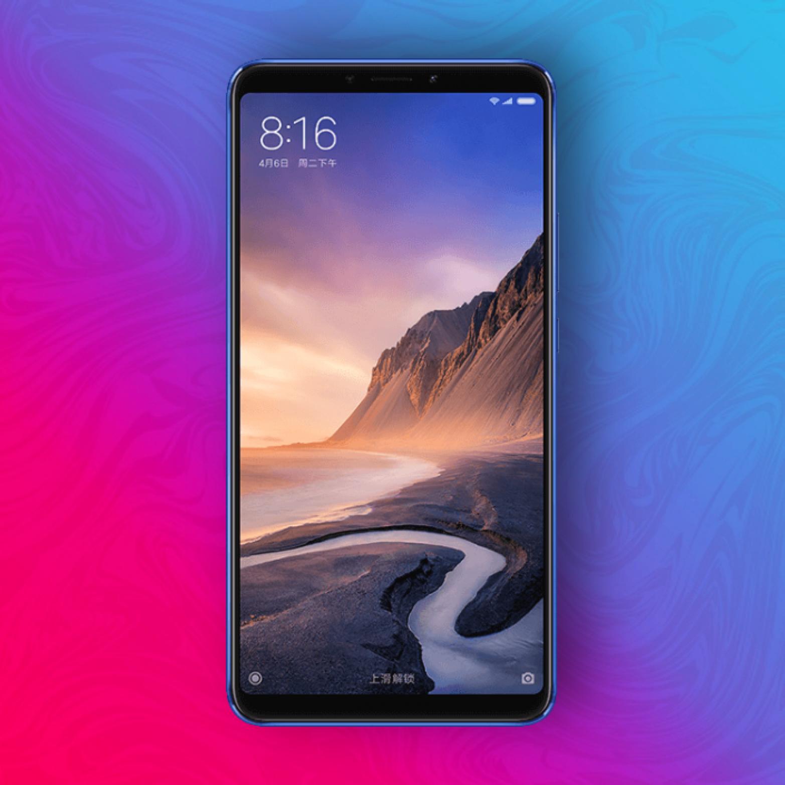 "Xiaomi Mi Max 3 64/4GB - 6,9"" FHD+ Display - Snapdragon 636 - 5000mAh Akku | Versand aus DE"