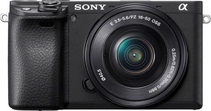 Sony Alpha ILCE-6400 + 16-50mm OSS schwarz