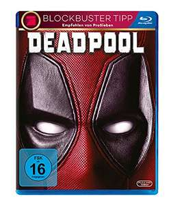 Deadpool (Blu-ray) für 5,52€ (Amazon Prime & Müller)