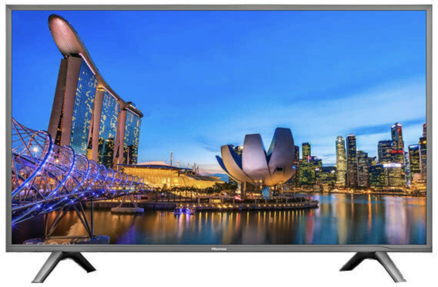 Hisense H49NEC5605 124cm 49 Zoll 4K Ultra HD Smart TV Triple Tuner für 346,31€ inkl. Versandkosten