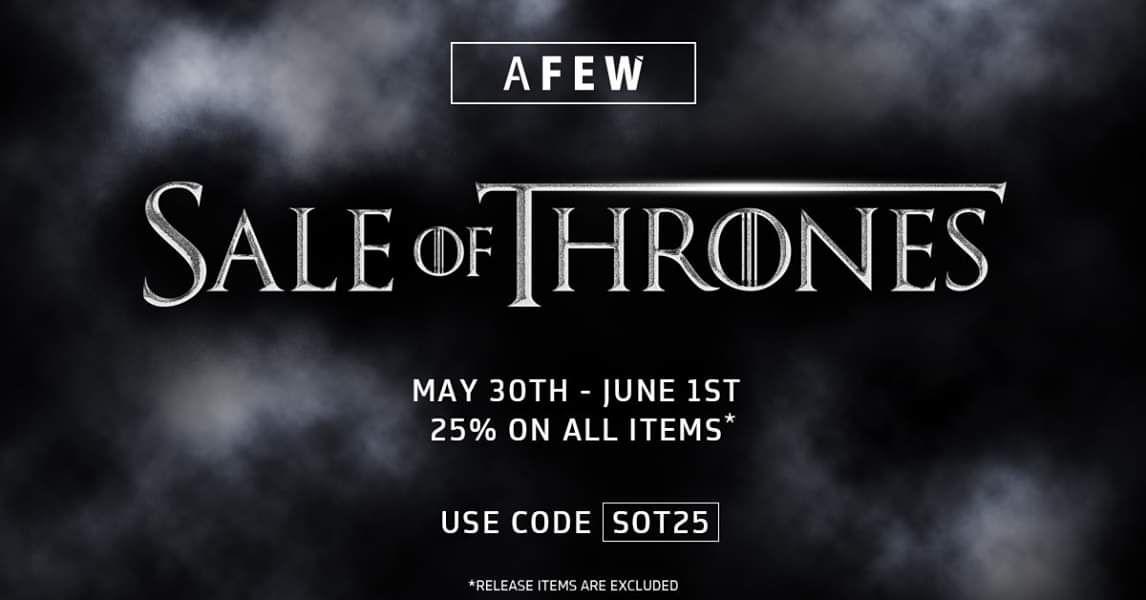 AFEW 25% Rabattaktion [Schuhe]