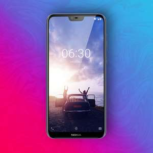 Nokia X6 64/4GB - Snapdragon 636 - 16+5MP / 20MP Kamera - Android 8.1 | Global ohne Band 20