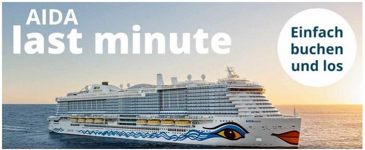 AIDA Last Minute z.B. 7 Tage Mittelmeer ab Mallorca mit AIDAnova ab 499€ p.P.