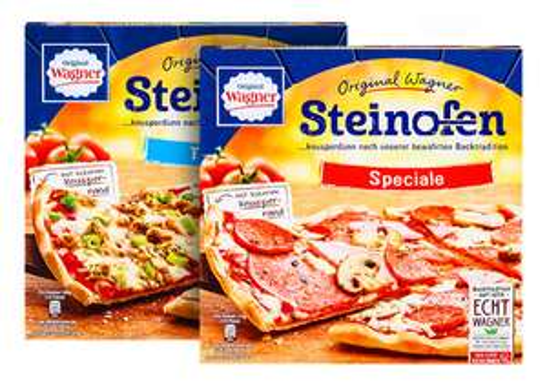 [LIDL] Original Wagner Steinofen Pizza für 1,39€